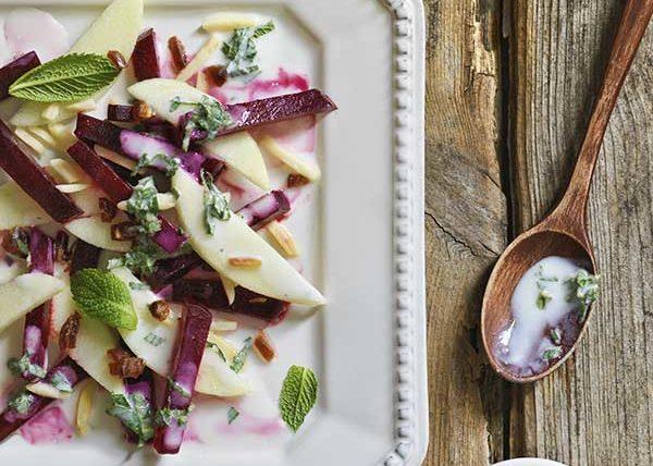 Beet Salad food styling toronto stylist marianne wren Eat-Clean Cookbook