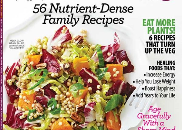Clean Eating Magazine Cover styled by Toronto food stylist Marianne Wren