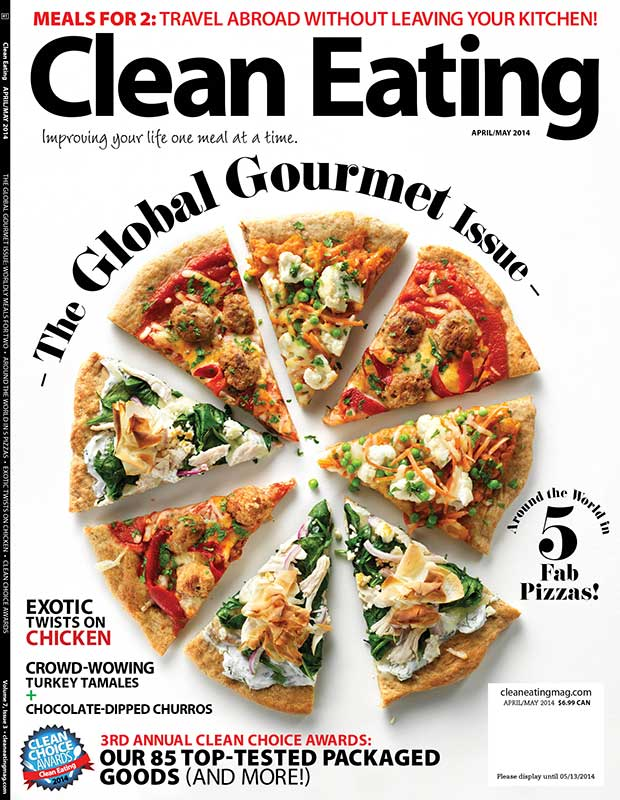 Clean Eating Magazine Cover food styling toronto stylist marianne wren