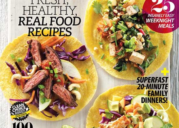 Clean Eating Magazine Cover Tacos styled by Toronto food stylist Marianne Wren