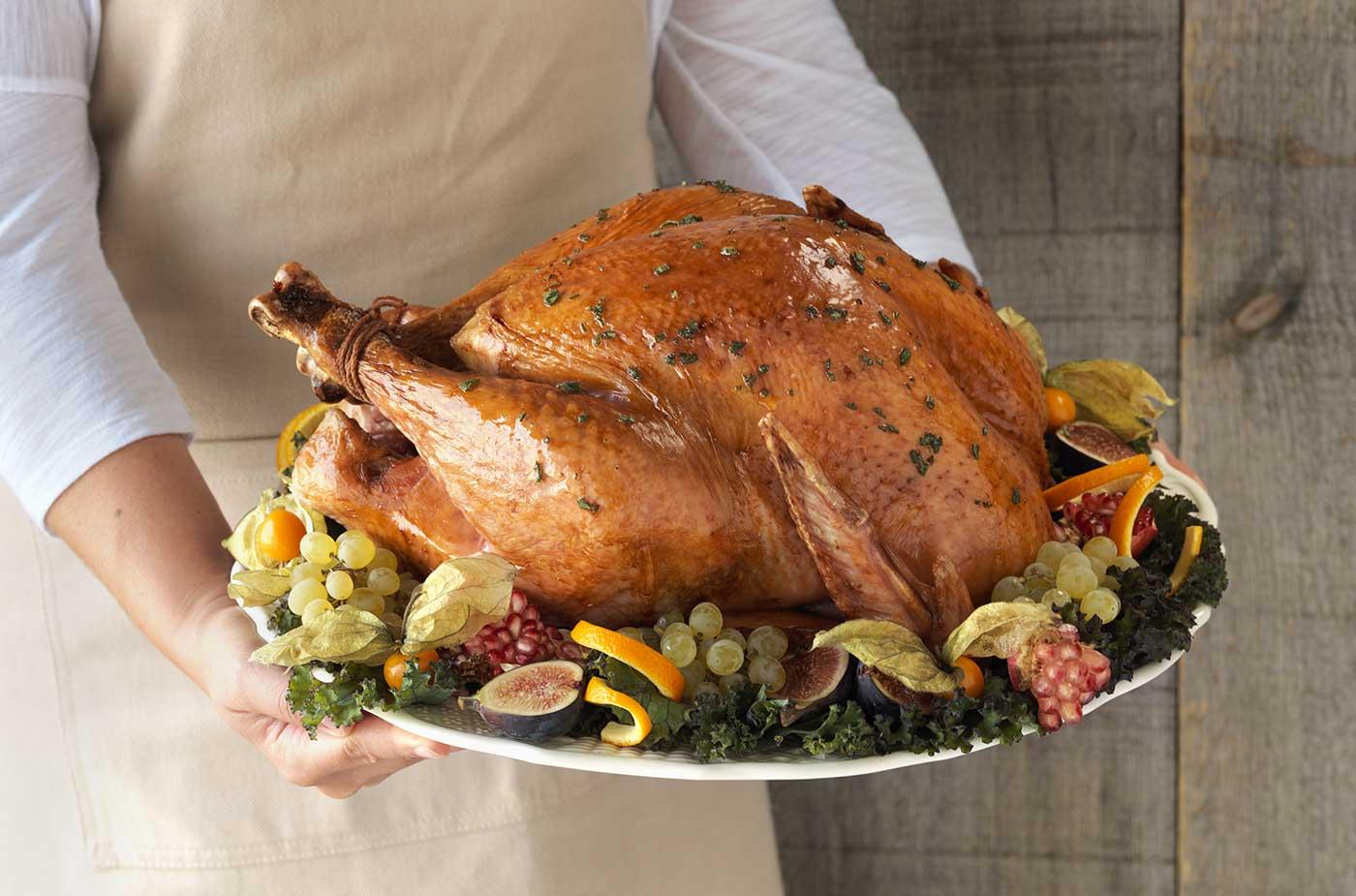 Holiday Turkey food styling toronto stylist marianne wren Clean Eating Magazine