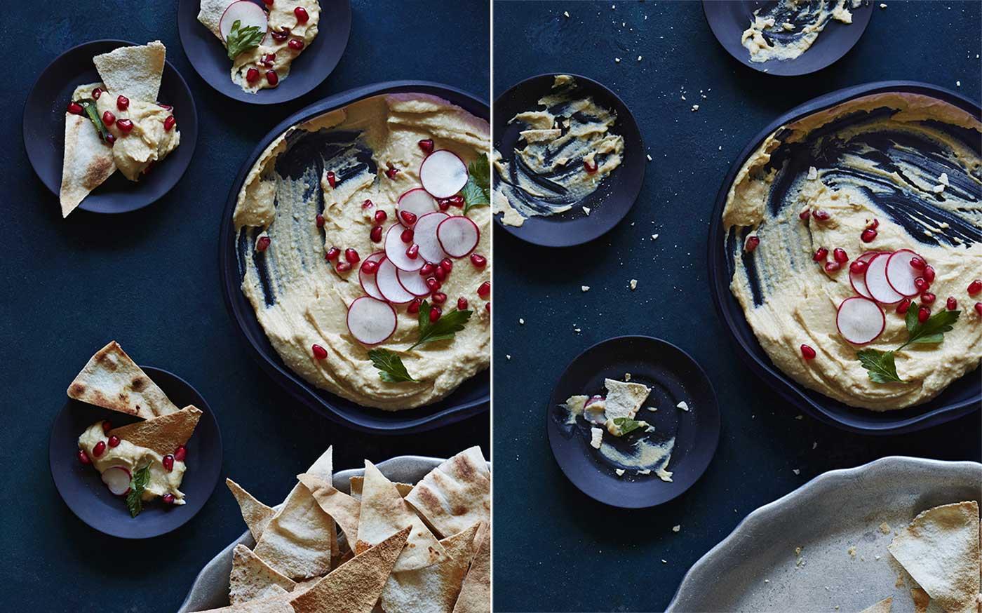 Last Bite Hummus Dip food styling toronto stylist marianne wren
