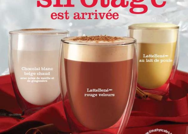 Timothy's Latte Trio beverage food styling toronto stylist marianne wren