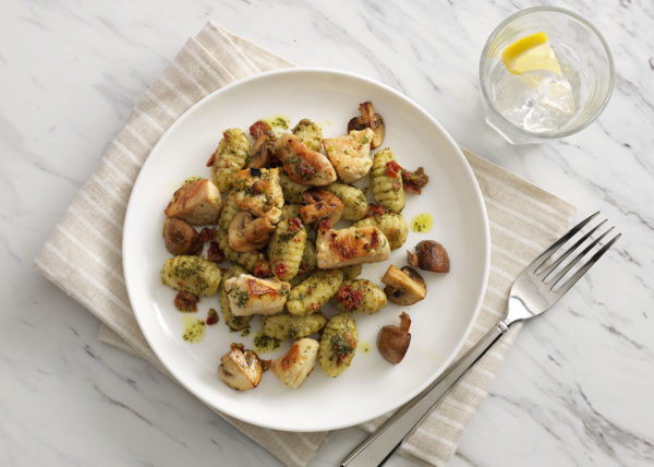 Chicken Gnocchi styled by Toronto food stylist and recipe developer Marianne Wren