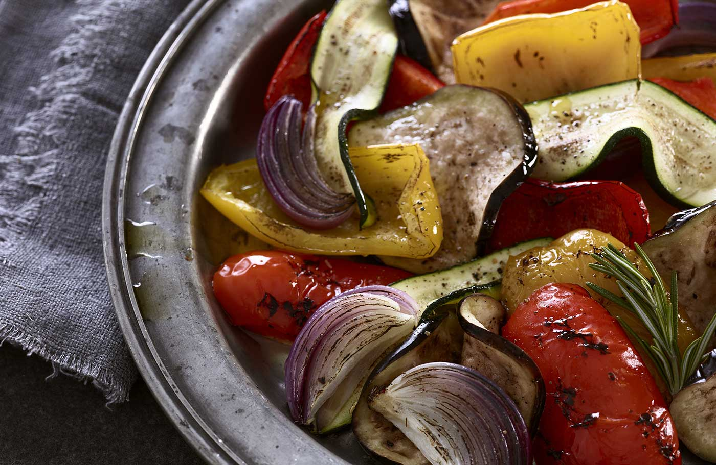 Grilled Vegetables styled by Toronto food stylist Marianne Wren