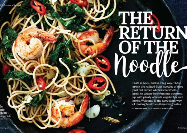 Heathier Than Ever Pasta Recipes Written by Toronto Food Stylist and Recipe Developer Marianne Wren