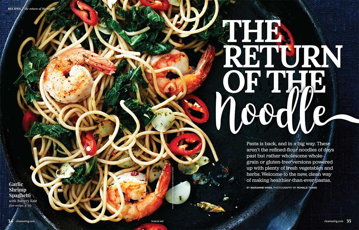 Heathier Than Ever Pasta Recipes Written by Toronto Food Stylist and Recipe Developer Marianne Wren