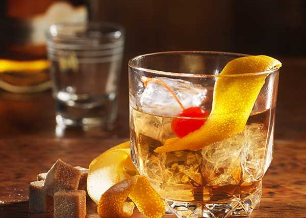 Old Fashioned Drink styled by Toronto food stylist and recipe developer Marianne Wren