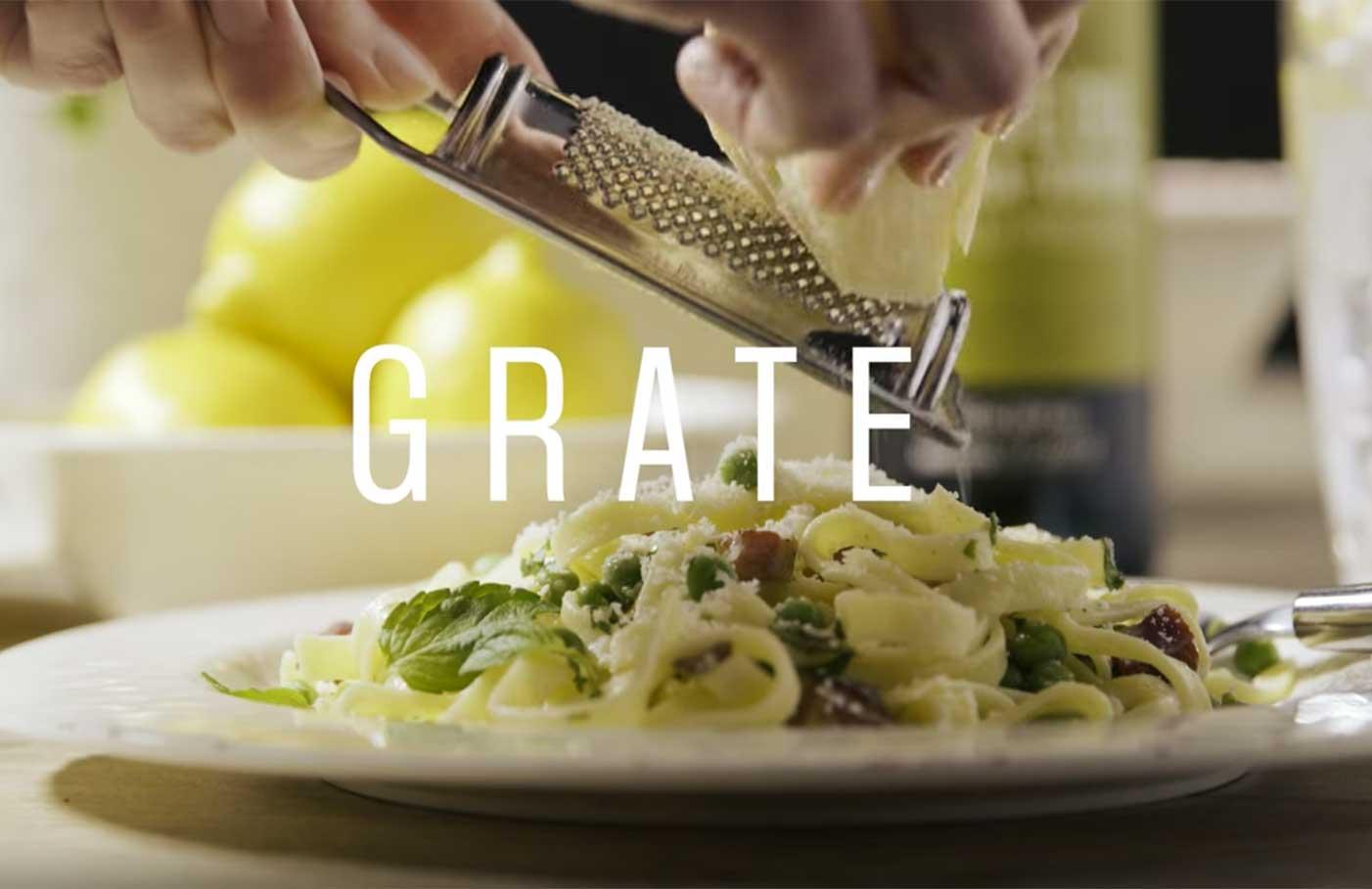 Pancetta Pasta styled by Toronto Food Stylist Marianne Wren