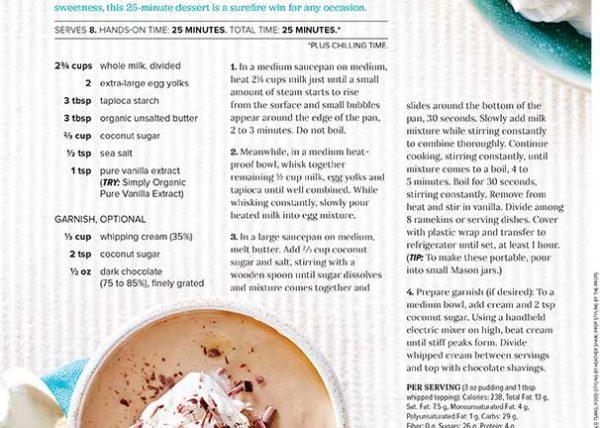 Work marianne wren food stylist recipe developer salted caramel pudding forumfinder Choice Image